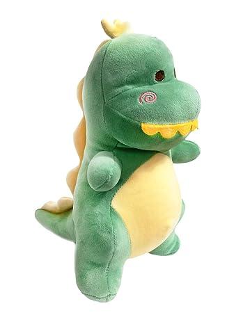 Amazon Com Hwd 12 Plush Dinosaur Doll Stuffed Animal Toys Green