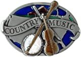 COUNTRY MUSIC Belt Buckle American Music Nashville