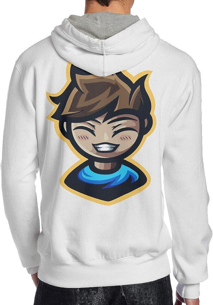 Mens Hoodie Crainer-Game Sweatshirt Black