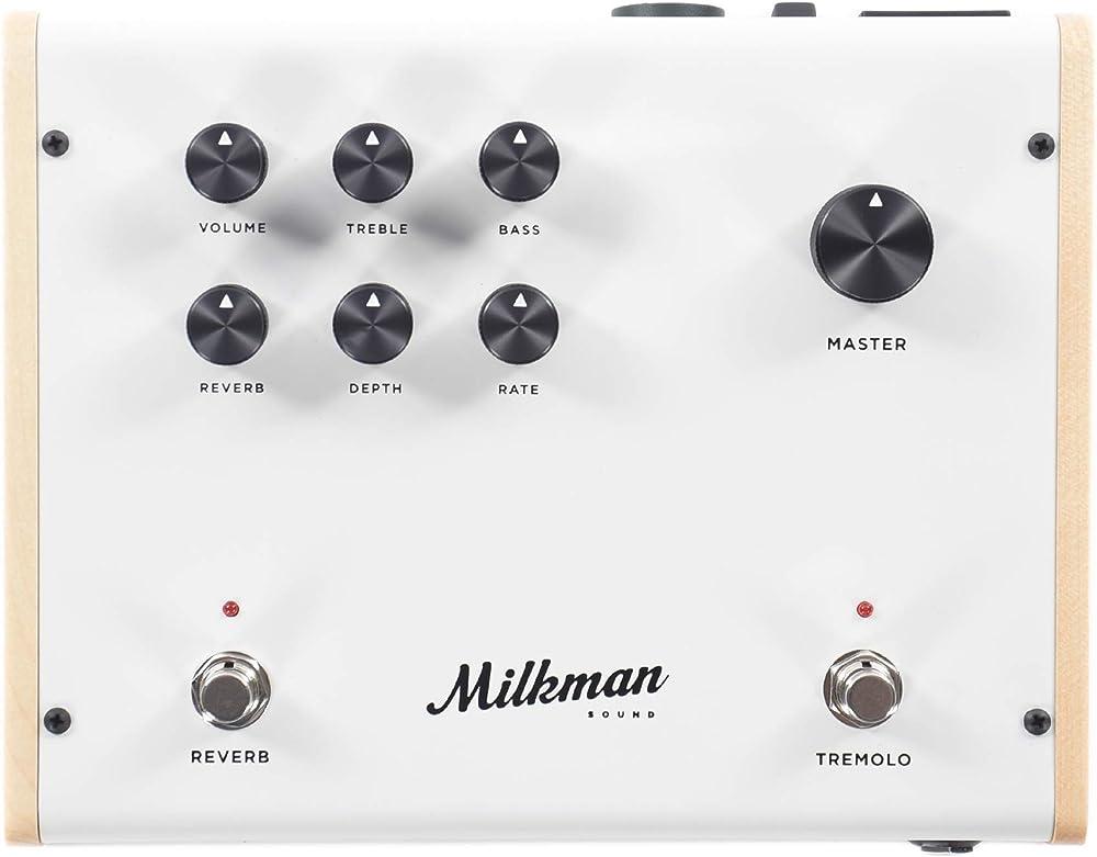 Milkman Sound The Amp:フロントパネル