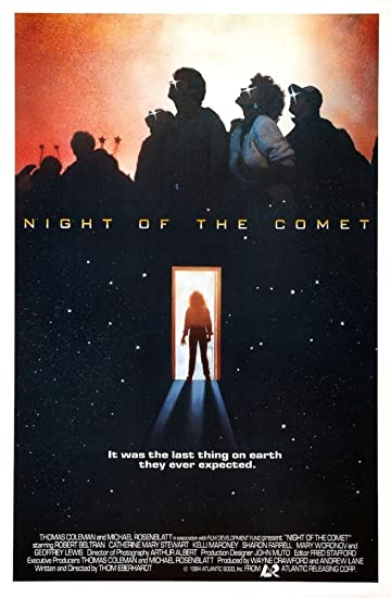 Image result for night of comet movie poster