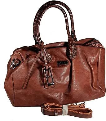 Vernika Bag For Women,Chocolate Brown - Satchels Bags