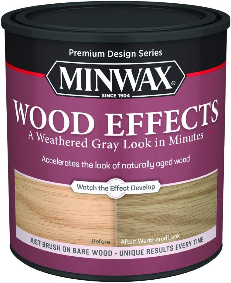 Minwax 405040000 Wood Effects, Weathered Gray
