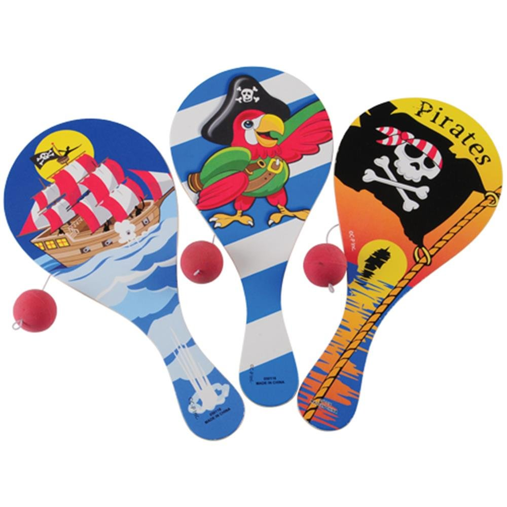 Pirate Pirate Paddle Ball Ball 海賊パドルボールハロウィンクリスマス Paddle B001BQX2HU, 神奈川区:582e514f --- ferraridentalclinic.com.lb