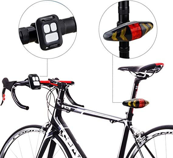 Maso - Luz trasera para bicicleta, color Tipo 1, tamaño A1: Amazon ...