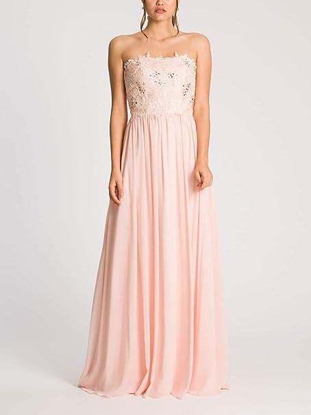 Abiti Da Cerimonia Yada.Yada Couture Abito Lungo Donna Cerimonia Art Ld101 Colore Rosa