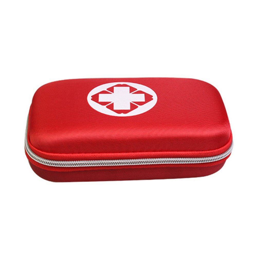 CARESHINE Outdoor Sports Travel Camping Emergency Survival First Aid Kit Bag 48Pcs for Car Home Work Office Boat Camping Hiking