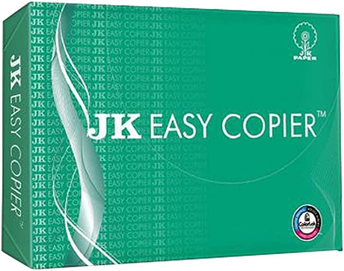 JK Green Copier Paper - A4, 70 GSM, 500 Sheets Paper at amazon