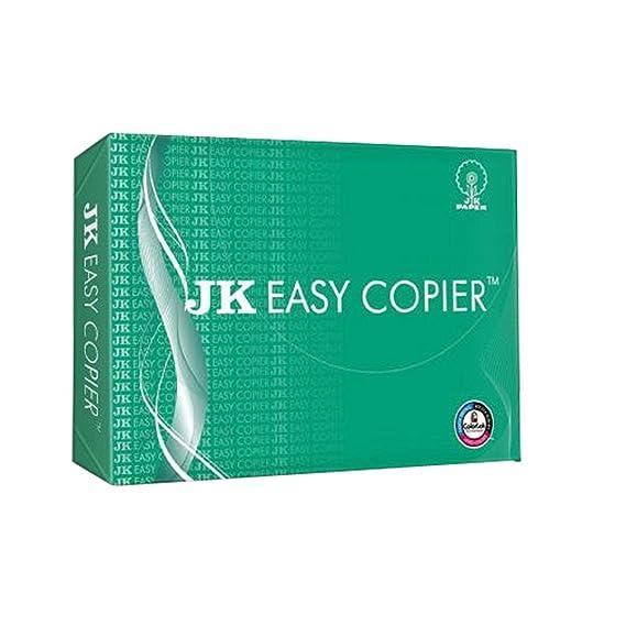 JK Green Copier Paper - A4, 70 GSM, 500 Sheets Paper at amazon