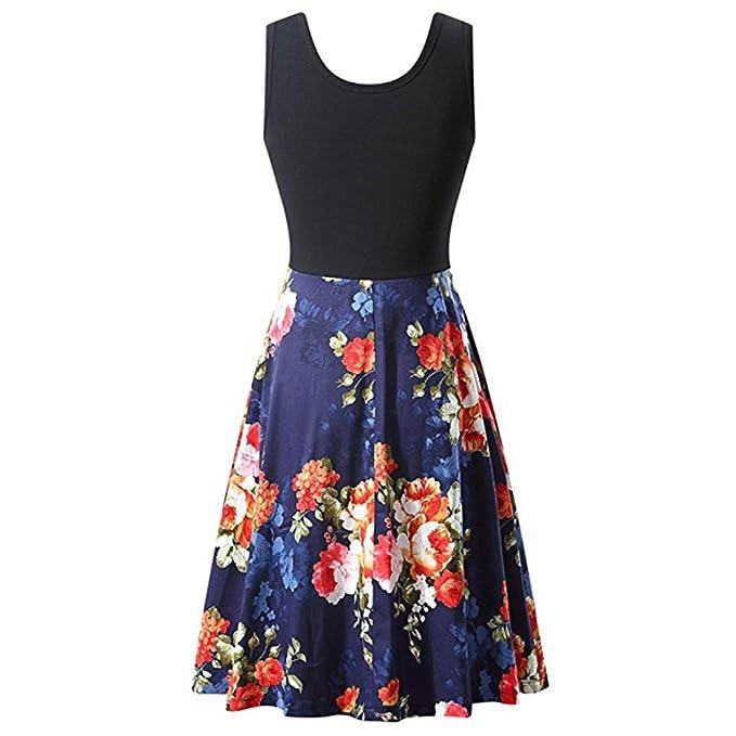 Vectry Kleider Damen Kleid Brautjungfernkleid Petticoat Lange Kleid ...