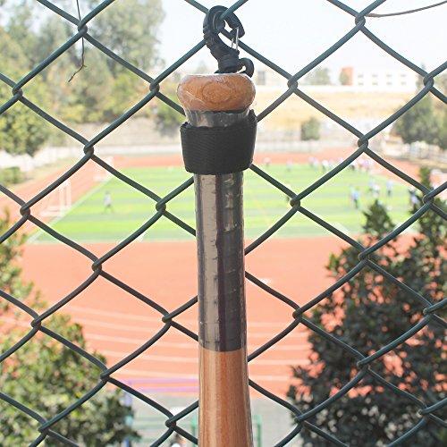 t Softball Bat Fence Rack Bat Fence Holder Dugout Rack Dugout Bat Holder - No Bat! ()