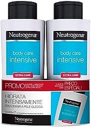 Kit Promocional com 2 Hidratante Corporal .Body Care.Intensive Extra Care, Neutrogena