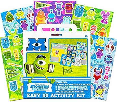 Printable Monsters University Squishy Coloring Pages | 400x445