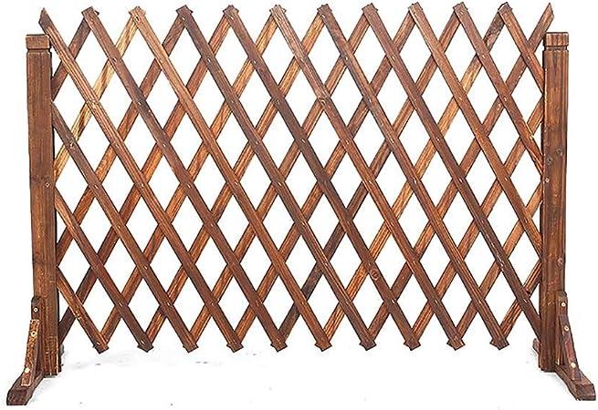 kaige Valla Puerta de Seguridad reja Perro Guardrail Extensible Barrera de Madera Jardín Valla Anchura Estirable es 34-160cm (Tamaño: 80cmx34cm) WKY (Size : 120cmx34cm): Amazon.es: Hogar