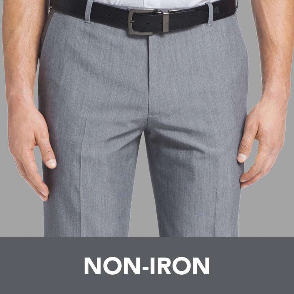 50 NEW Van Heusen Men/'s Dress Pants Traveler Extender Non-Iron Big /& Tall 48