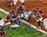 "James White New England Patriots Autographed 8"" x 10"" Super Bowl LI Champions Game-Winning Touchdown Photograph - Fanatics Authentic Certified"