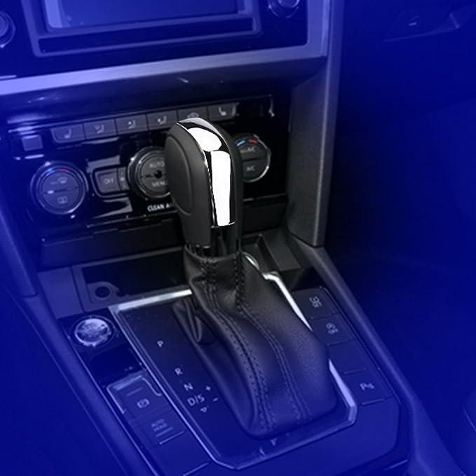 Cuque Car Gear Shift Shifter Knob Automobile Stick Head Handle Lever Auto Gear Shift Knob Head Black Chrome for DSG Automatic Transmission for MK6 MK7 GTI B7 CC Gear Shift Knob