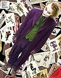 35 xbox card - Wall Graphix: Batman Dark Knight - The Joker Cards 23 x 29