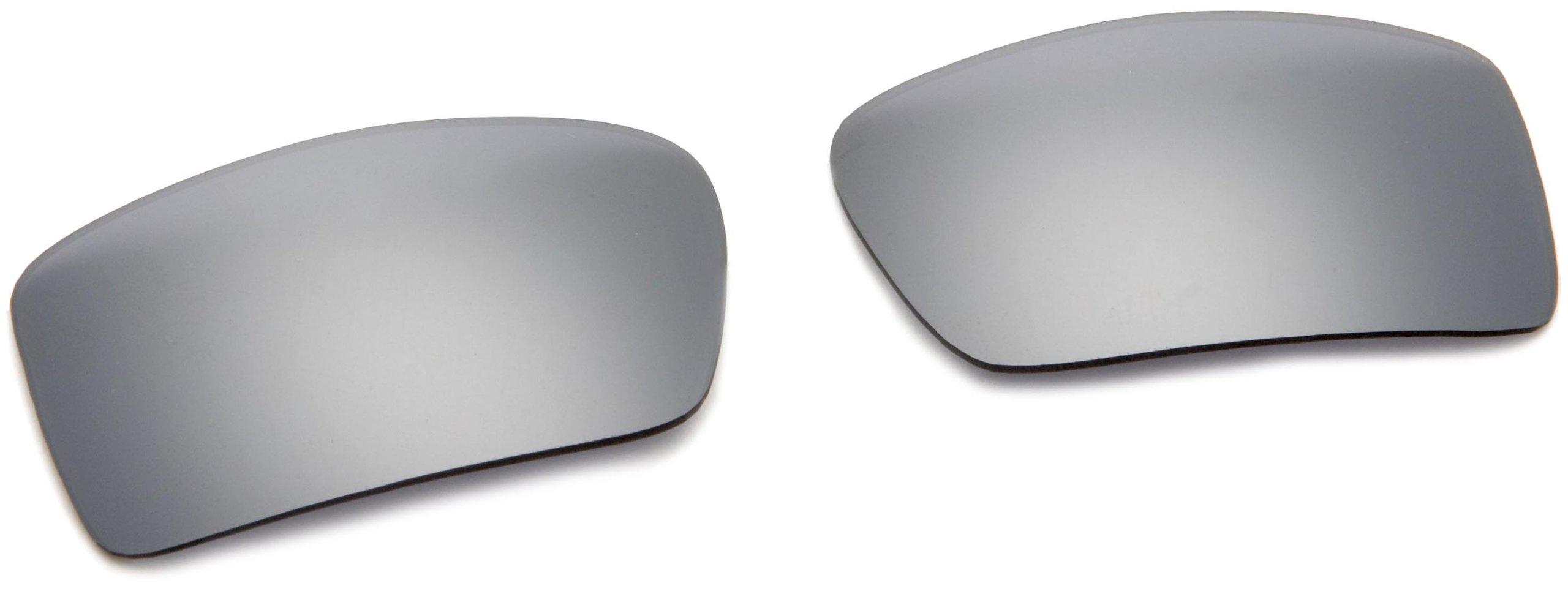 Oakley Men's Gascan Sunglasses Replacement Lenses, Black Iridium, 60 mm by Oakley