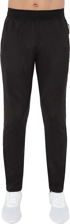 Skora Men's Sweatpants Slim Fit Stretch Running/Jogging Performance Pants- Mens Lightweight Gym Running Joggers