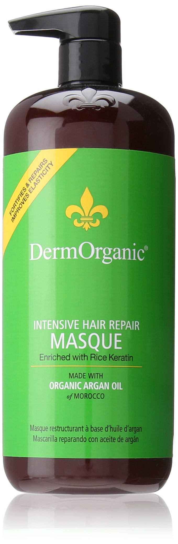 DermOrganic Intensive Hair Repair Deep Masque with Argan Oil, 33.8 fl.oz.