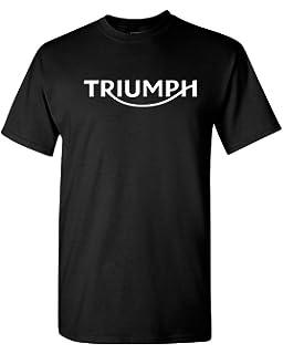 cb03c6f4d Amazon.com: TRIUMPH VINTAGE LOGO T SHIRT NAVY MENS SIZE LARGE ...
