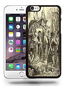 Vintage Les Mis¡§|rables Sketch Art Drawing Phone Case Cover Designs for iPhone 6
