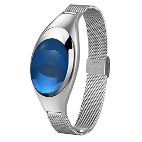 XUHAHAZNSH Pulsera Inteligente/Yurkem Z18 Reloj Inteligente Mujeres con Monitor De Ritmo Cardíaco De La
