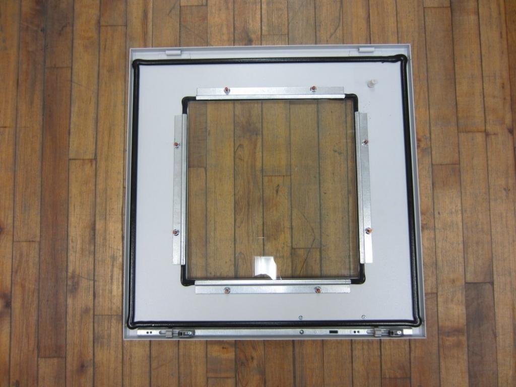 Upper Front Hoffman PDST86PC Steel Door Light Gray Fits 1600 mm x 600 mm PC