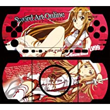 Japanese Anime Sword Art Online Design Decorative Protector Skin Decal Sticker for PSP 3000