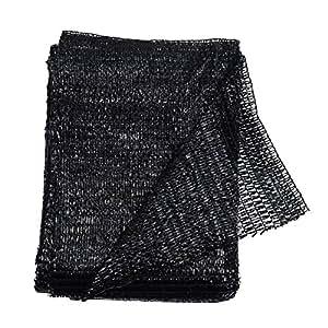 40% Black 6.5'x10' Sun Mesh Shade Sunblock Shade Cloth UV Resistant Net For Garden Flower Plant