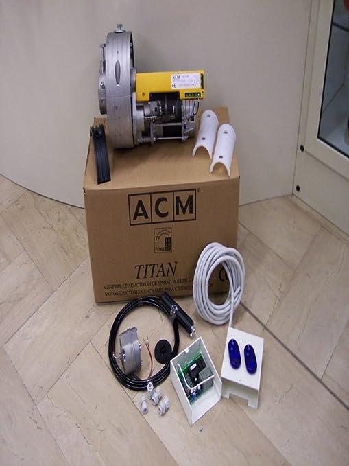 Schema Elettrico Motore Serranda : Kit motore serranda acm comunello con elettrofreno e centralina