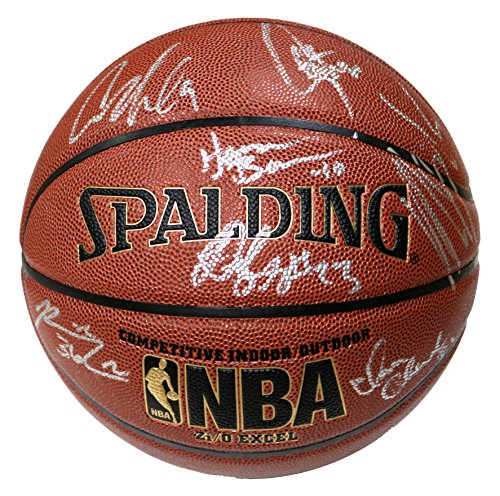 Golden State Warriors 2015-16 Team Autographed Signed Spalding NBA Basketball PAAS COA Stephen Curry Klay Thompson Draymond Green (Team Signed Basketball)