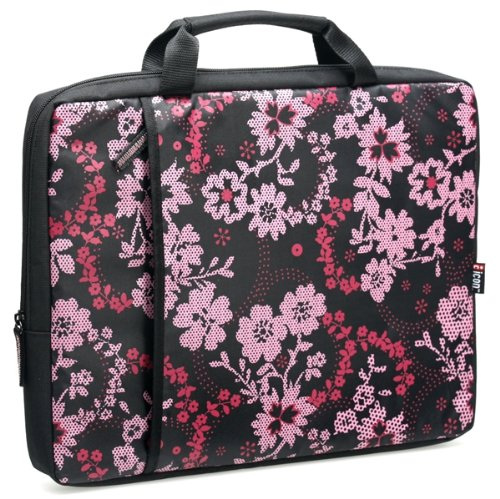(Icon PSLV12-AST 15.4-Inch Notebook Garden Print Zippered Sleeve )