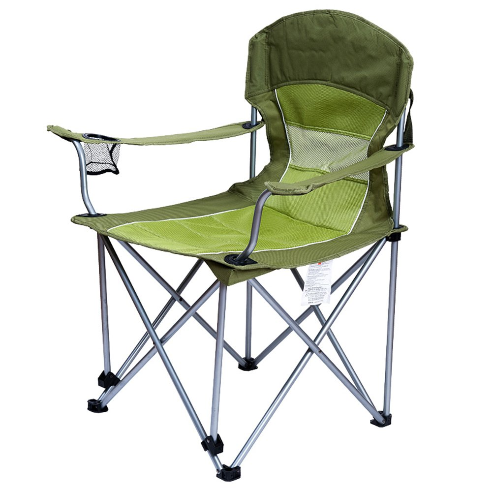 Outdoor folding chair YNN Lässige Klappstuhl gesteppte warme Strand Stuhl Direktor Stuhl gepolsterte Stuhl tragbare komfortable Rest Stuhl