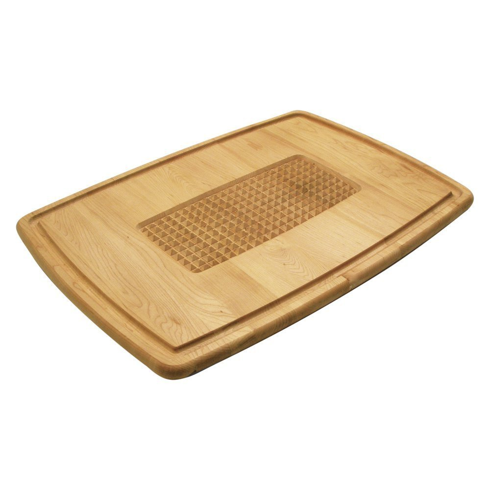 Snow River Maple Pyramid Cutting and Carving Board 7V03504
