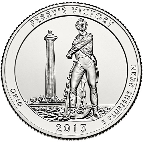 2013 D Perry's Victory and International Peace Memorial Quarter Choice Uncirculated