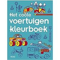 Het coole voertuigen kleurboek