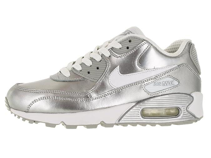 Nike Kids Air Max 90 Prem LTR (GS) Running Shoe