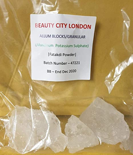 Natural Alum Granules Powder 100g