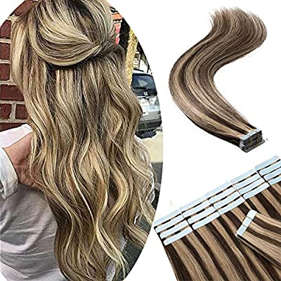 Amazon Com Tape In Remy Hair Extensions 100 Human Hair 18 100g 40pcs Long Straight Seamless Skin Weft Glue In Human Hairpieces Highlight 4 27 Medium Brown Mix Dark Blonde Balayage Hair Beauty,Cherry Point Farm And Market Lavender Labyrinth