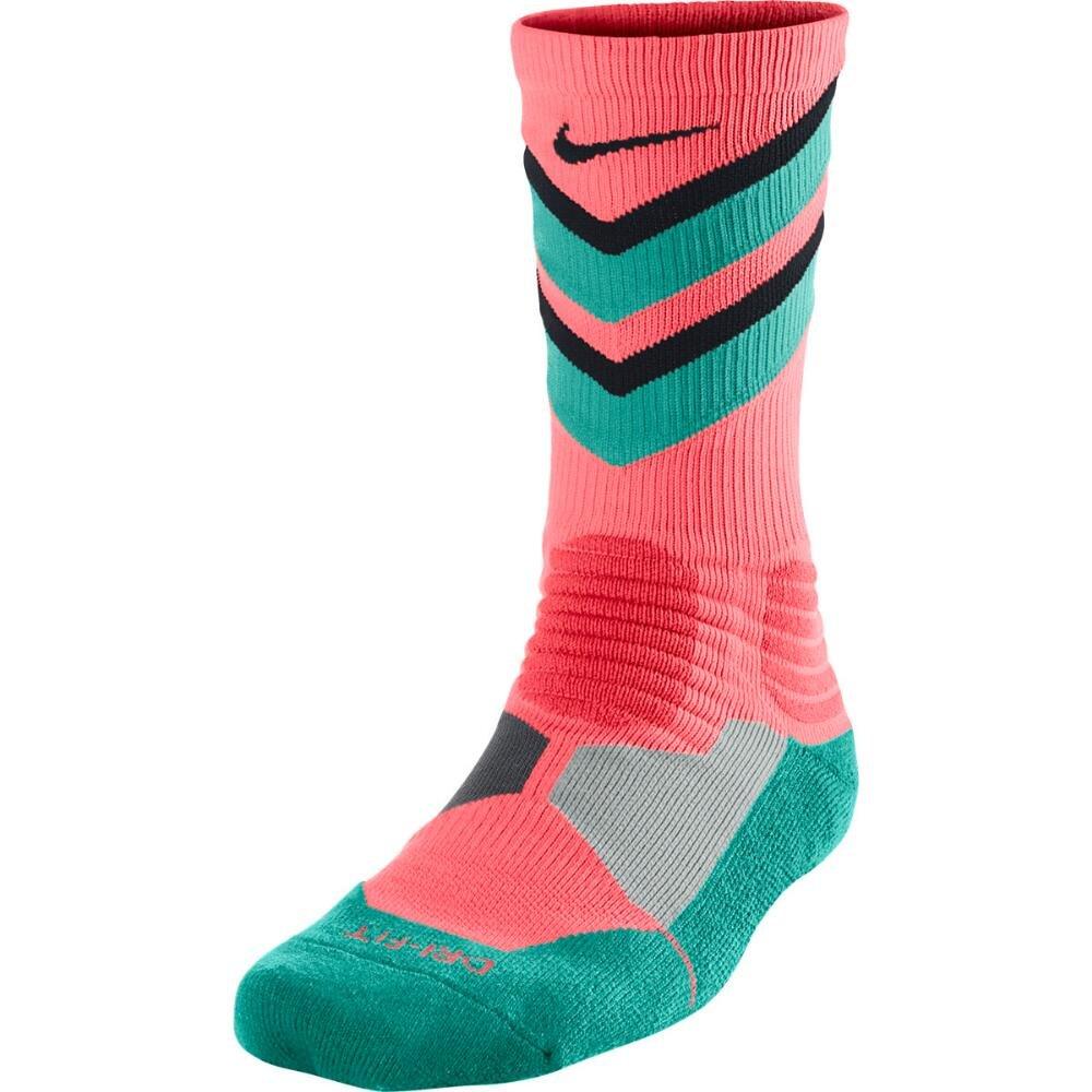 top fashion sells many fashionable Nike Hyper Elite Chase Basketball Crew Socks Hot Lava SX4923-844 (L 8-12)