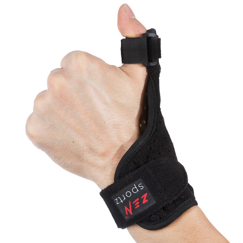 Zen Sportz Thumb & Wrist Brace - Reversible, Neoprene, Aluminum Thumb Splint Stabilizer for Dependable Support
