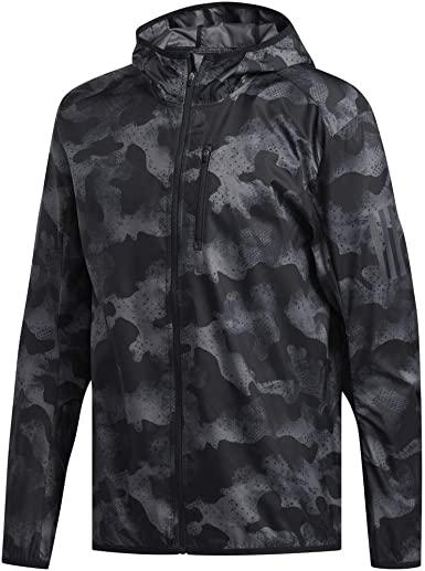 Adidas Own the Run Jacket Jacken Bekleidung grau