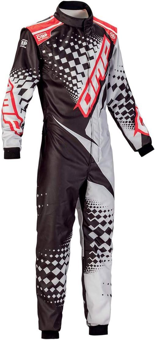 OMP KS-2R Kart Racing Suit KK0172524750 Size: 50, Blue//Yellow