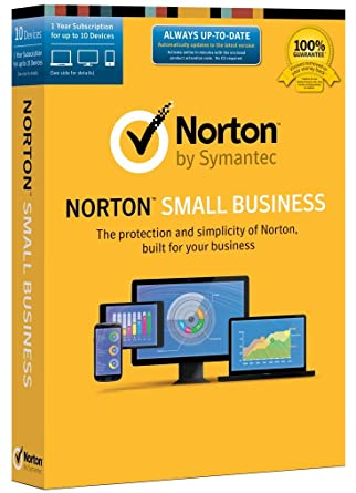 amazon com norton small business 10 device key card software