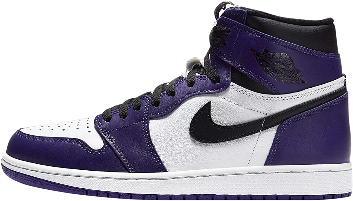 Amazon.com | AIR JORDAN 1 High Og 'Court Purple' - 555088 ...