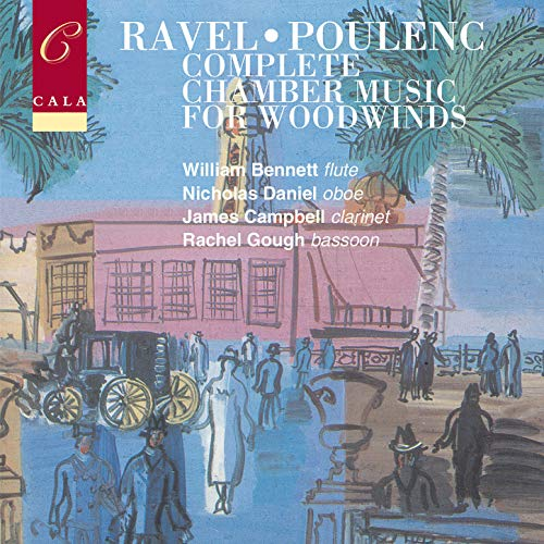 French Chamber Music for Woodwinds Volume Two: Ravel & Poulenc