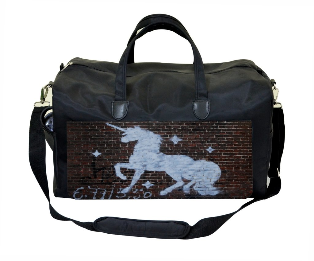 Unicorn Graffiti Wall Art Print Design Therapist Bag