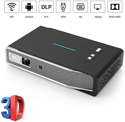 AI LIFE Proyector Inteligente Soporte Full HD 1080P 4K HDMI WiFi ...